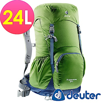 【ATUNAS 歐都納】德國DEUTER網架直立式透氣登山背包24L-3430116綠/灰