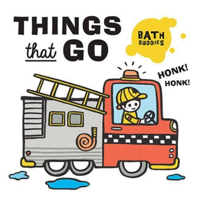 Bath Buddies:Things That Go 洗澡玩具書:交通工具篇