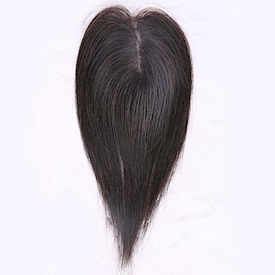 米蘭精品 假髮片真髮絲-隱形增髮量20cm補髮塊女假髮母親節禮物2色73us3