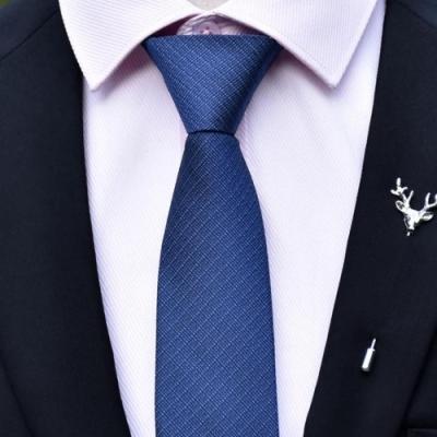 【拉福】領帶6cm中窄版領帶精工手打領帶(多色 可選色)