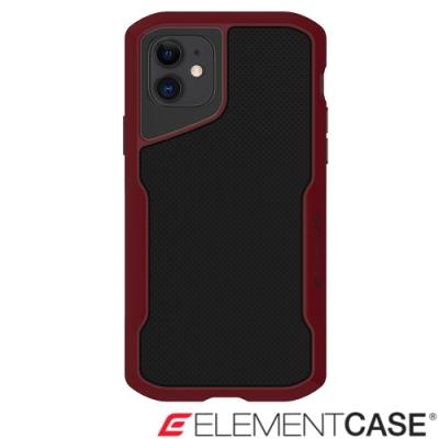 美國Element Case iPhone 11 Shadow 流線手感軍規殼 - 紅黑