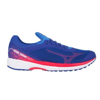 MIZUNO DUEL SONIC 男路跑鞋- 慢跑 美津濃 運動 U1GD203462 藍桃紅