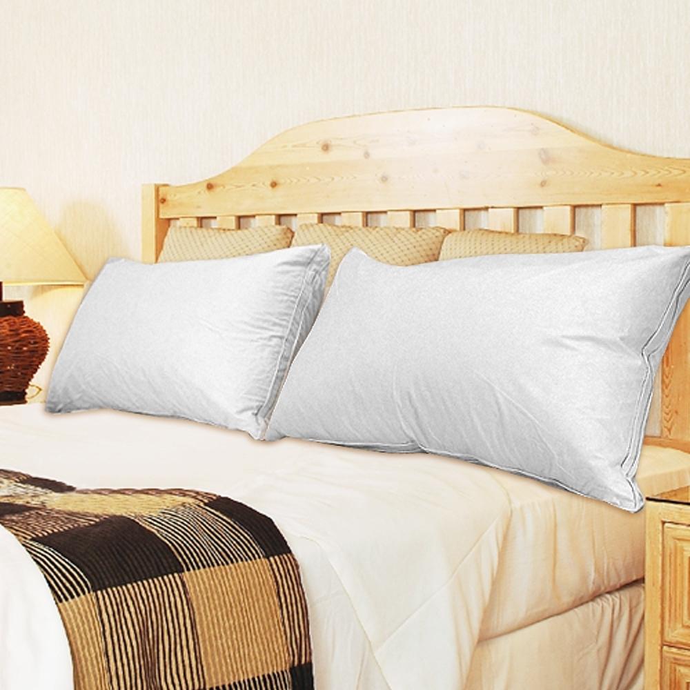 凱蕾絲帝-台灣製造-台灣製造-50/50貴族級立體純棉羽絨枕(1入)