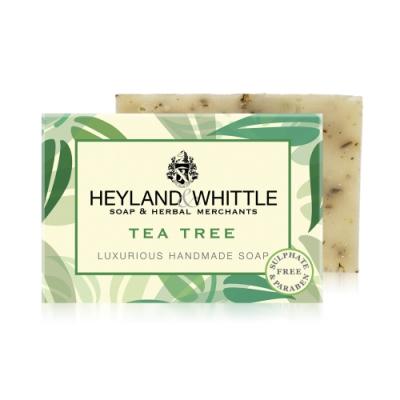 *H&W英倫薇朵 清新茶樹手工香氛皂120g