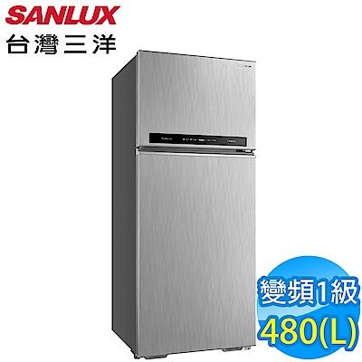 SANLUX台灣三洋 480L 1級變頻2門電冰箱 SR-C480BV1B