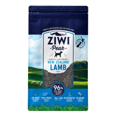ZiwiPeak 巔峰 96%鮮肉狗糧 羊肉 1KG