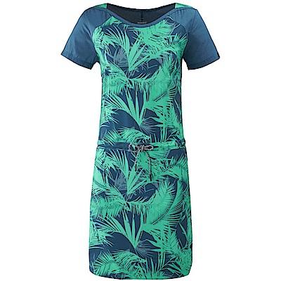 法國【EiDER】女排汗透氣抗UV印花連身裙