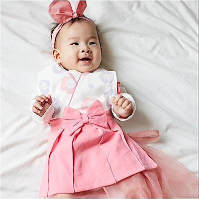 baby童衣 日本和服造型長版圍兜 82029