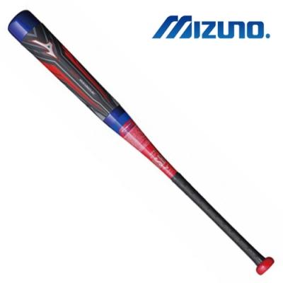 MIZUNO BEYONDMAX OVAL 少年軟式球棒 藍色x紅色 1CJBY14380