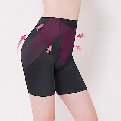 高腰素面無痕M-2XL提臀褲 神秘黑 可蘭霓Clany