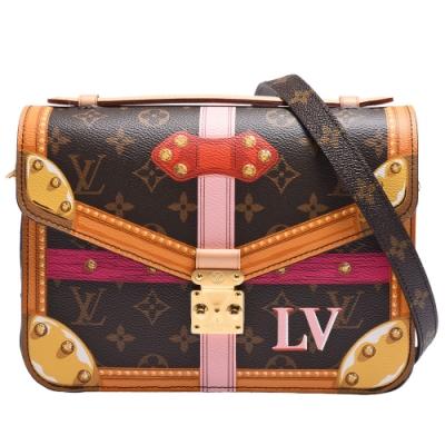 LV M43628 Pochette Metis帆布印花皮革飾邊手提/斜背信差包