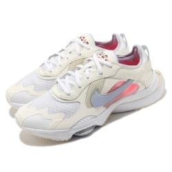 Nike 休閒鞋 Air Zoom Division 女鞋 復古 氣墊 球鞋穿搭 緩震 舒適 白 灰 CK2950100