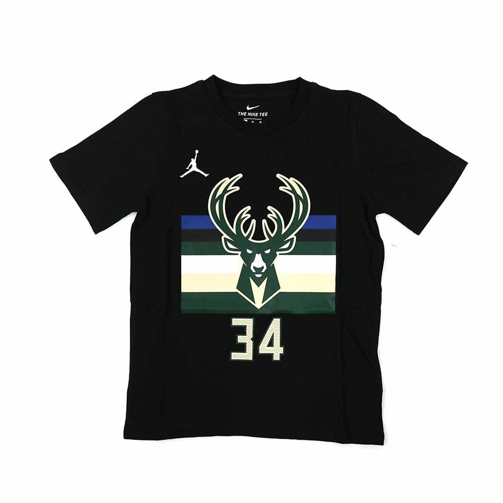 NIKE NBA Statement Edition 青少年 短袖上衣 公鹿隊 Antetokounmpo