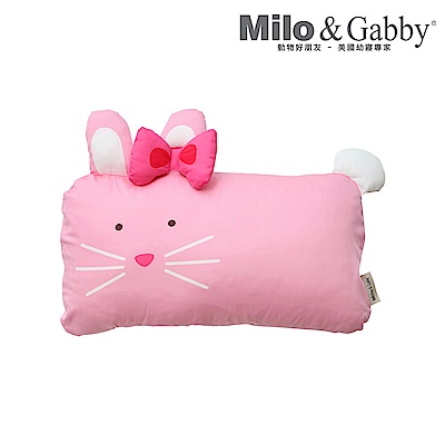 Milo&Gabby 動物好朋友 mini枕頭套(LOLA芭蕾舞兔兔)