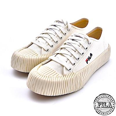 FILA 情侶款 韓版中性餅乾鞋 4 C320T 111