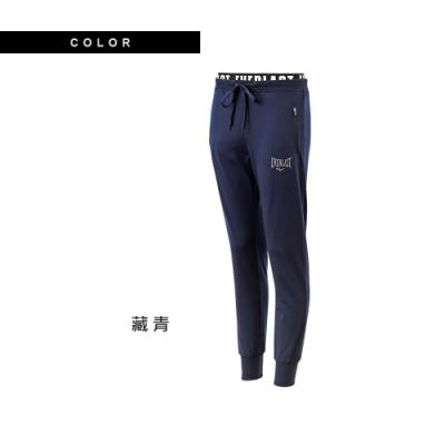 【EVERLAST】女款休閒風運動長褲-藍色