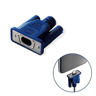 ELECOM Lightning充電線保護套偽裝CABLE系列-VGA接頭