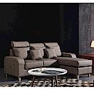 MUNA佩吉強韌耐磨高科技皮L型沙發 205X168X99cm
