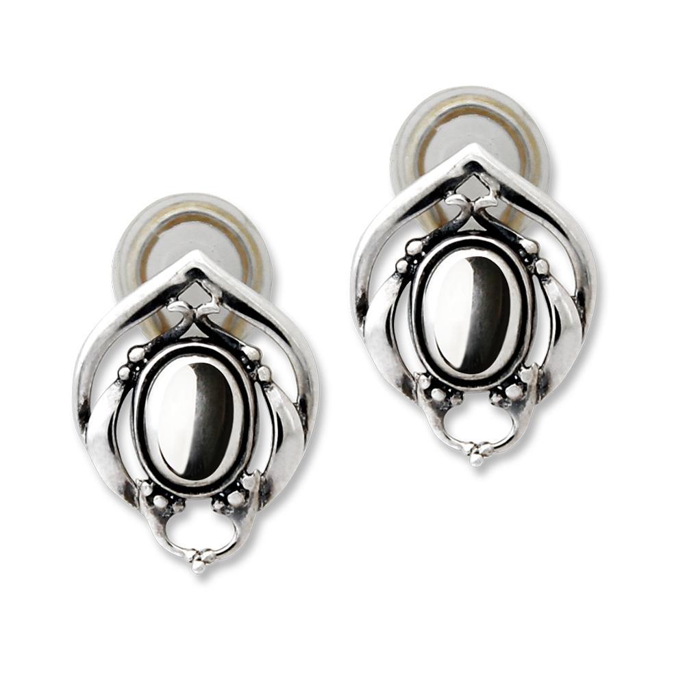 Georg Jensen 喬治傑生 2016年度銀石夾式耳環