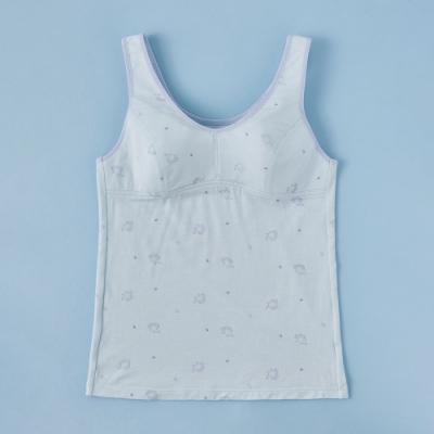 蕾黛絲-小刺蝟牛奶紗長背心曉女生 S-EL罩杯內衣 水藍