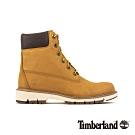 Timberland 女款小麥色磨砂革防水靴|A1T6U