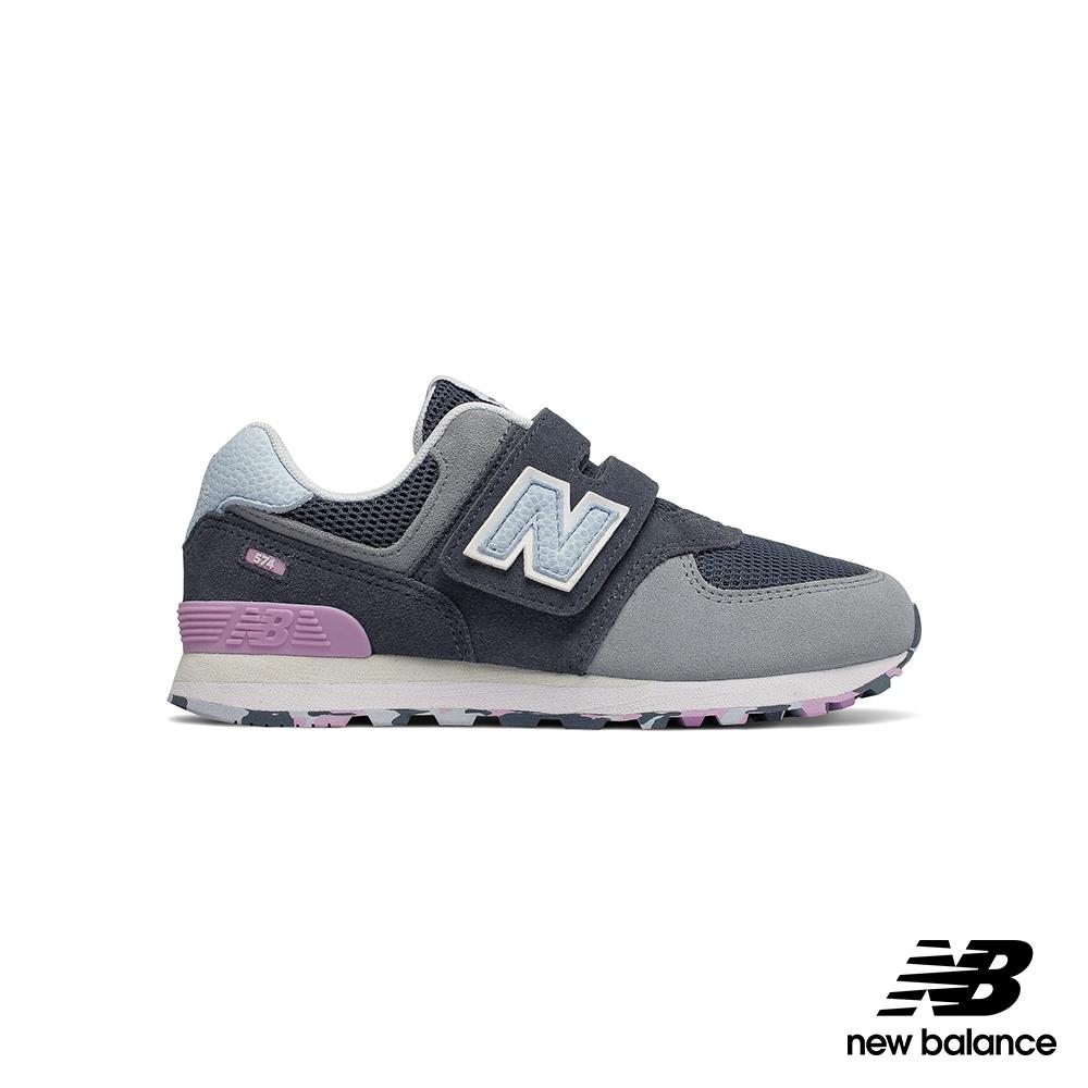 New Balance 復古鞋_YV574UJA_兒童_灰藍