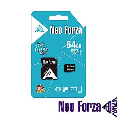 Neoforza 凌航 micro SDXC UHS-1/C10 64GB 記憶卡