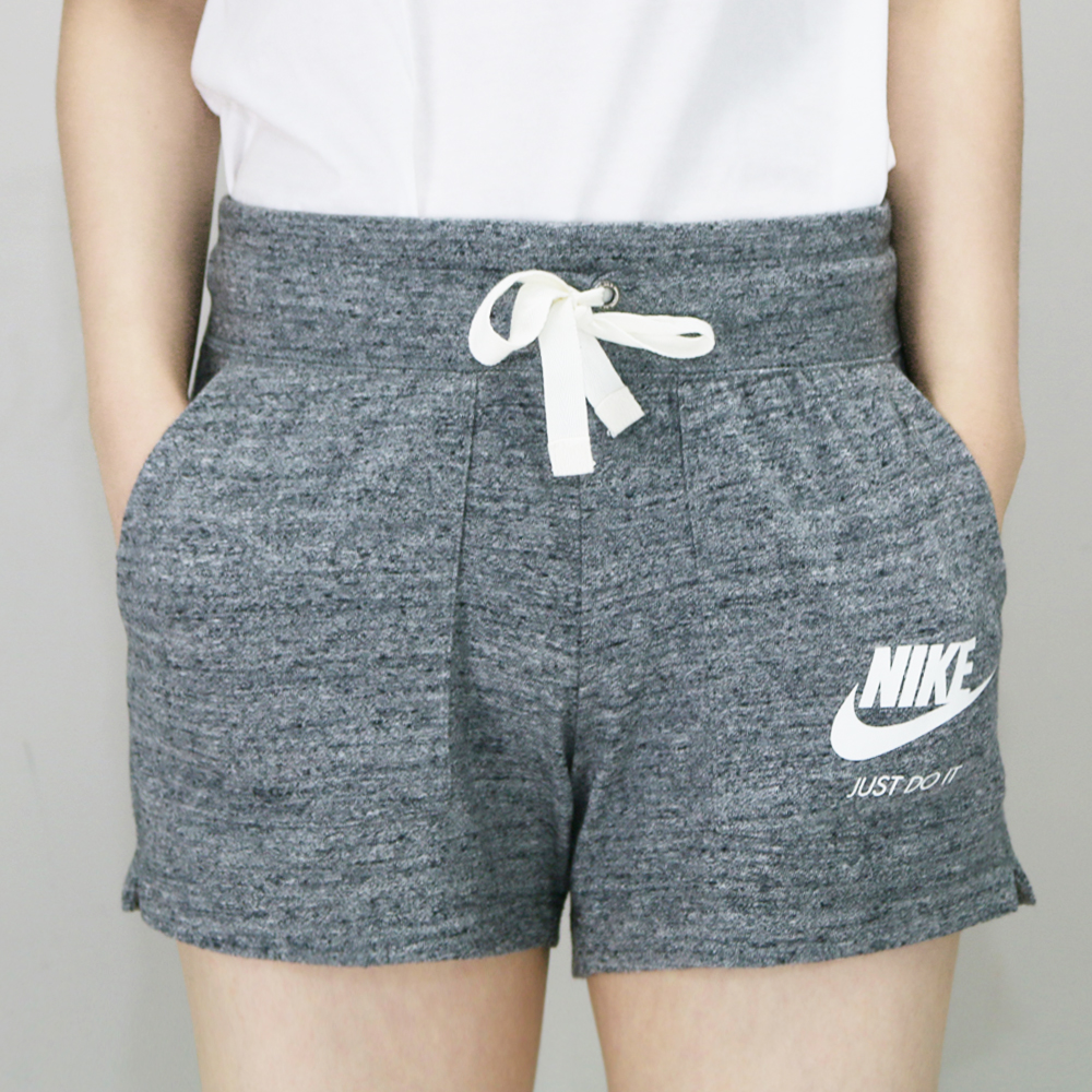 NIKE NSW GYM VNTG SHORT 女 短褲 灰