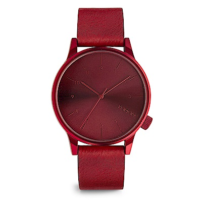 KOMONO Winston Regal 腕錶-暘紅/41mm