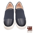 SM-簡約素色厚底舒適休閒鞋