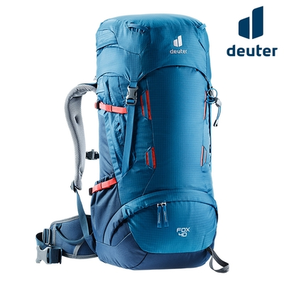 Deuter FOX 拔熱透氣背包 3611221 藍-深藍/40+4L