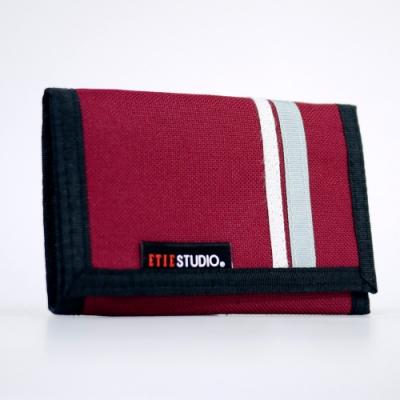 Miyo 艾爾發簡約兩摺短夾(紅)