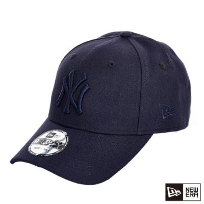 NEW ERA 9FORTY 940 logo 洋基 深藍/黑 棒球帽