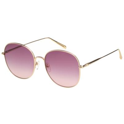 LONGCHAMP 圓框 太陽眼鏡 (金色)LO118