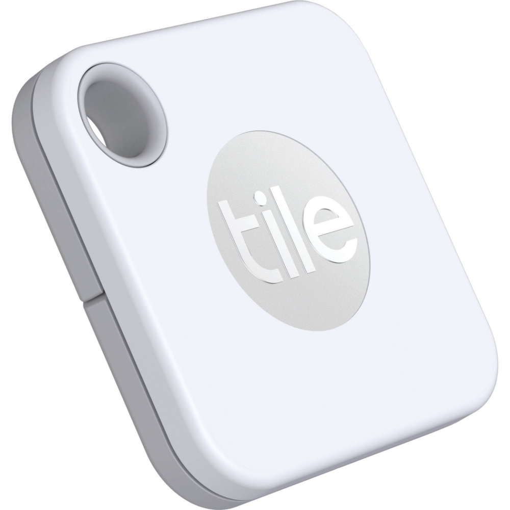 【Tile】防丟小幫手- Mate可換電池 白(4入組)