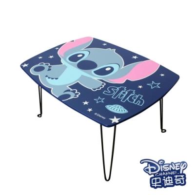 迪士尼Disney 星空可愛 史迪奇摺疊長桌 和室桌 兒童桌60x45x30cm