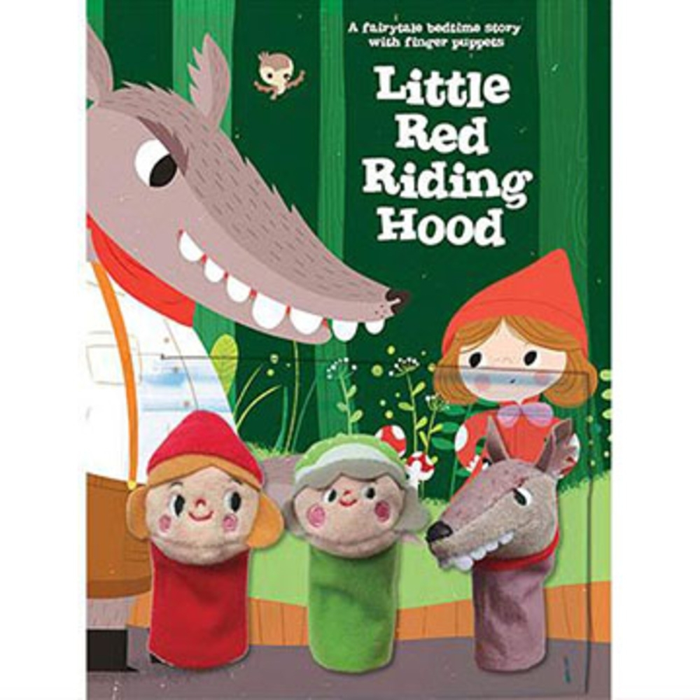 Little Red Riding Hood 睡前故事:小紅帽指偶書