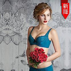 瑪登瑪朵 無敵美G內衣  E-G罩杯(古董藍)