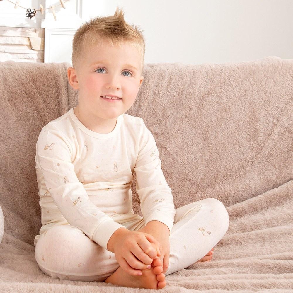 奇哥 小草比得側開套裝/居家服-滋潤美麗纖維(4歲)