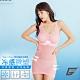 GIAT台灣製冷泉沁涼BRA機能薄塑衣(附襯墊)-玫瑰粉 product thumbnail 1