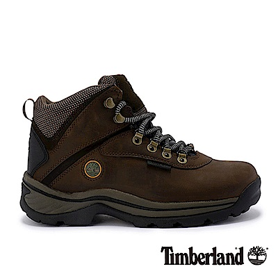 Timberland 女款咖啡色中筒防水靴 12668