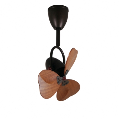 VENTO芬朵 FINO3 16吋吊扇 大心型 仿古色本體 深木紋葉片 不含安裝