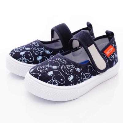 SNOOPY童鞋 史努比休閒鞋款 NI5236深藍(中小童段)