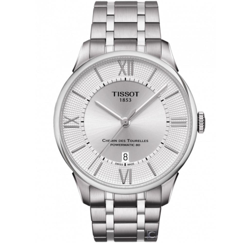 TISSOT 杜魯爾 80小時動力儲存機械腕錶(T0994071103800)42mm @ Y!購物