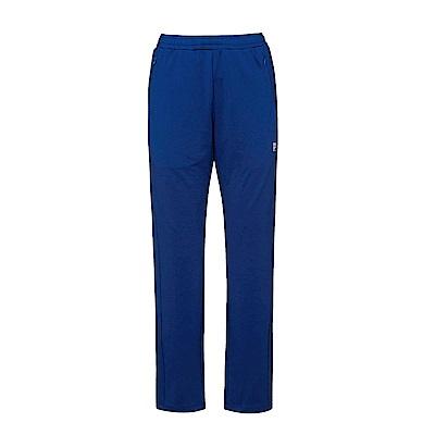 FILA 女款抗UV吸濕排汗針織長褲-藍 5PNS-5317-BU