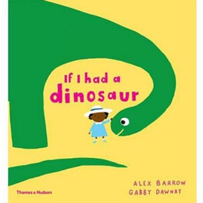If I Had A Dinosaur 如果我的寵物是恐龍平裝繪本