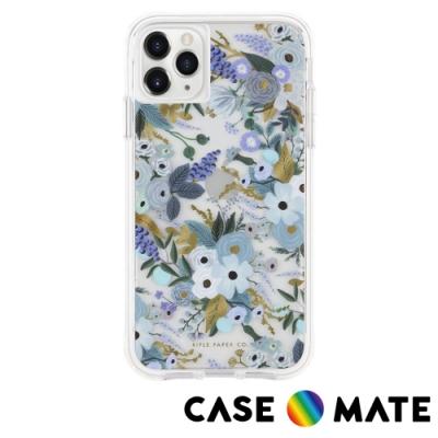 美國 CASE●MATE Rifle Paper Co. 限量聯名款 iPhone 11 Pro Max 防摔手機保護殼 - 花園派對 藍