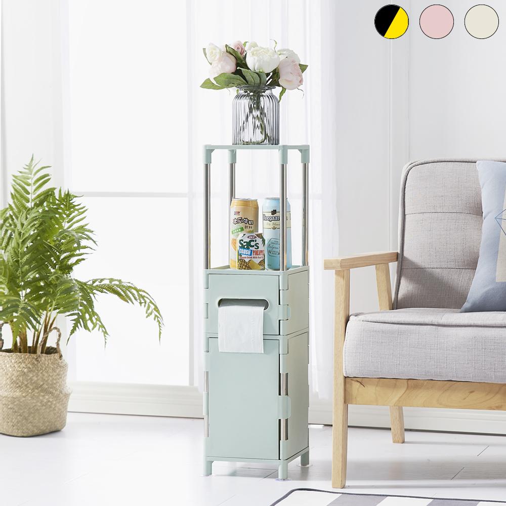 lemonsolo日式多功能儲物收納架-A款 北歐風置物架 夾縫收納架