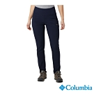Columbia 哥倫比亞 女款-防曬50防潑長褲-深藍 UAK11220NY