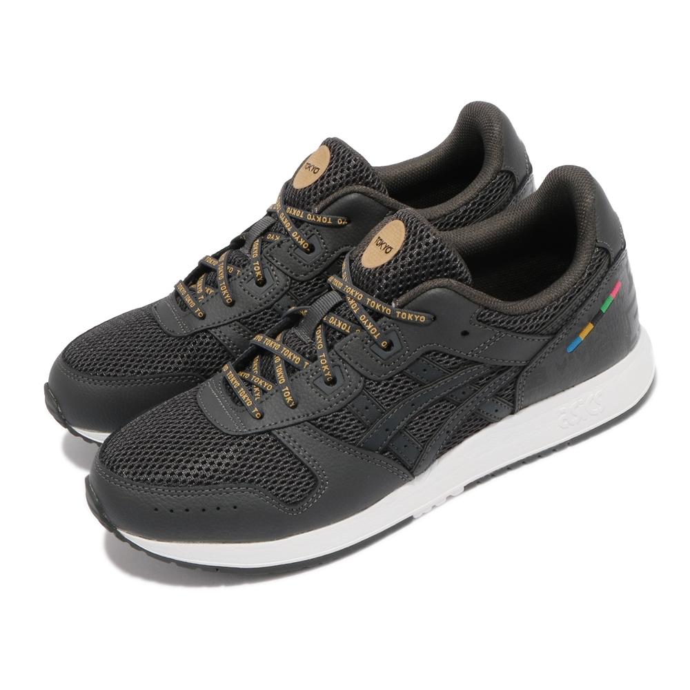 Asics 休閒鞋 Lyte Classic 復古 男女鞋 亞瑟士 經典 復刻慢跑鞋 穿搭 黑 灰 1201A028020